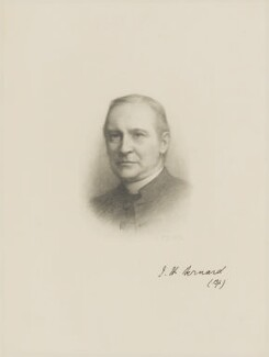 John Henry Bernard, after Frank Dicksee - NPG D9628