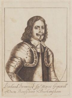 Sir Richard Browne, 1st Bt, after Unknown engraver - NPG D963