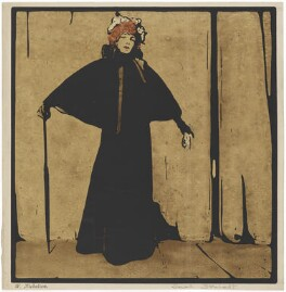 Sarah Bernhardt, published by William Heinemann, after  William Nicholson - NPG D9631