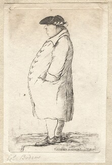 George Bodens, by James Sayers, published by  Charles Bretherton - NPG D9638