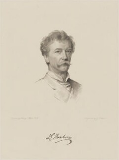 Sir Joseph Edgar Boehm, 1st Bt, by George J. Stodart, after  Henry Tanworth Wells - NPG D9639