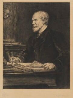 Sir Henry Yule, by Theodore Blake Wirgman - NPG D9648