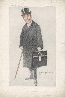 Charles Hallam Elton Brookfield, by Alexander ('Alick') Penrose Forbes Ritchie - NPG D9654