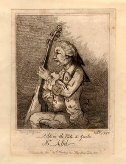 Karl Friedrich Abel, by William Nelson Gardiner, published by  Edward Harding, after  John Nixon, published July 1787 (1787) - NPG D966 - © National Portrait Gallery, London