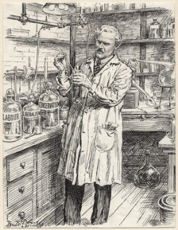 The Master Chemist (Ramsay MacDonald), by Bernard Partridge - NPG D9673
