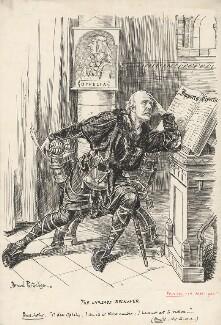 The Unready Reckoner (Arthur James Balfour, 1st Earl of Balfour), by Bernard Partridge - NPG D9687