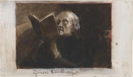 Hon. Charles Leslie Courtenay, by Louisa Anne Beresford - NPG D23146(11)