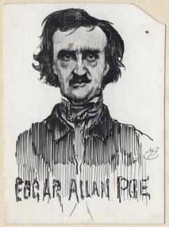 Edgar Allan Poe, by Harry Furniss - NPG D97