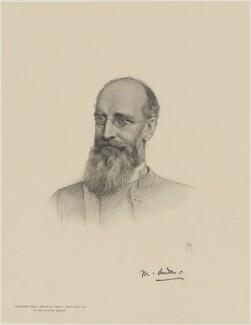 Mandell Creighton, after Henry Tanworth Wells - NPG D9700