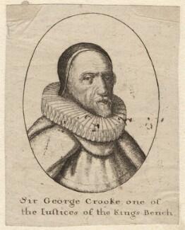 Sir George Croke, by Wenceslaus Hollar - NPG D9704
