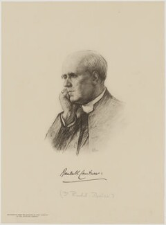 Randall Thomas Davidson, Baron Davidson of Lambeth, after Miss C.B. Leighton, (1906) - NPG D9710 - © National Portrait Gallery, London