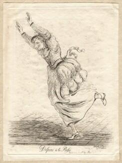 Carlo Antonio Delpini ('Delpini à la Rossi'), by James Sayers, published by  James Bretherton - NPG D9714