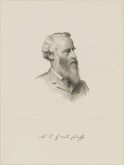 Sir Mountstuart Elphinstone Grant-Duff, by William Roffe, after  Henry Tanworth Wells - NPG D9724