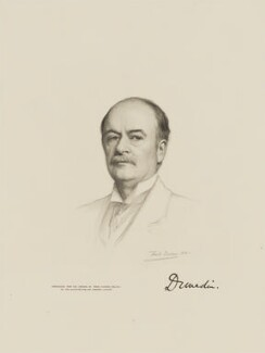 Andrew Graham Murray, 1st Viscount Dunedin, by The Autotype Company, after  Frank Dicksee - NPG D9727