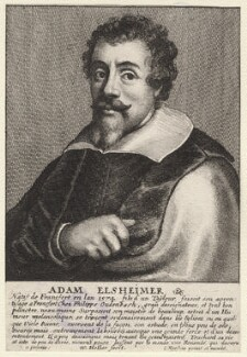 Adam Elsheimer, by Wenceslaus Hollar, after  Johannes Meyssens - NPG D9733