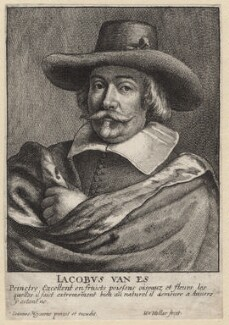 Jacob van Es, by Wenceslaus Hollar, after  Johannes Meyssens - NPG D9735