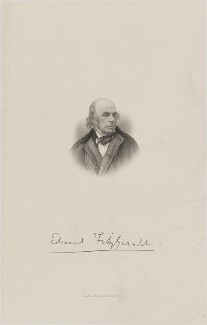 Edward Fitzgerald, published by Macmillan & Co - NPG D9739