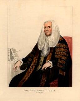Richard Pepper Arden, 1st Baron Alvanley, after Unknown artist, after 1788 - NPG D974 - © National Portrait Gallery, London
