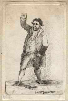 Charles James Fox ('Vox populi'), by James Sayers, published by  Charles Bretherton - NPG D9742