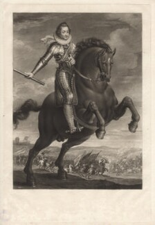 Frederick V, King of Bohemia and Elector Palatine, by Charles Turner, published by  Samuel Woodburn, after  Unknown artist - NPG D9756