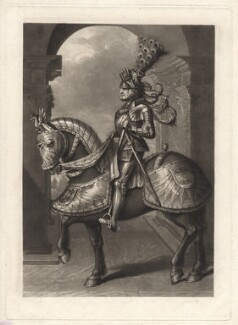 Maximilian I, Holy Roman Emperor, by Charles Turner, published by  Samuel Woodburn, after  Hans Burgkmair, published 1814 - NPG D9764 - © National Portrait Gallery, London