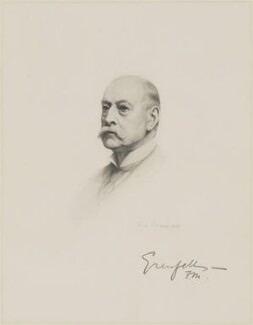 Francis Wallace Grenfell, 1st Baron Grenfell, after Frank Dicksee - NPG D9775