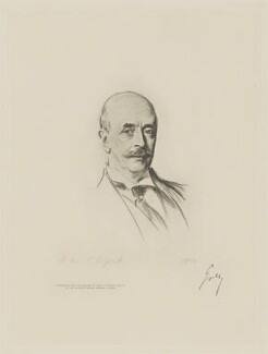 Albert Grey, 4th Earl Grey, by The Autotype Company, after  John Singer Sargent - NPG D9776