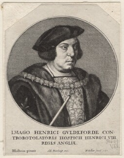 Sir Henry Guildford, by Wenceslaus Hollar, after  Hans Holbein the Younger - NPG D9779