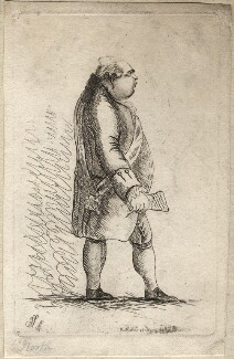 Frederick North, 2nd Earl of Guilford, by James Sayers, published by  Charles Bretherton - NPG D9780