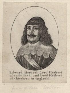 Edward Herbert, 1st Baron Herbert of Cherbury, by Wenceslaus Hollar - NPG D9796