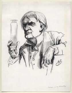 Thomas Alva Edison, by Harry Furniss - NPG D98