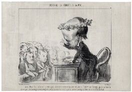 Victor Hugo, by Honoré Daumier - NPG D9804