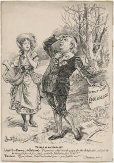 Trials of an Idealist (David Lloyd George), by Bernard Partridge - NPG D9811