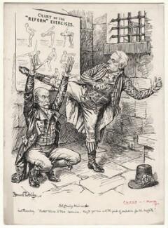 Stiffening Their Necks, by Bernard Partridge - NPG D9821