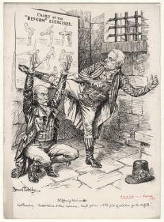 Stiffening Their Necks, by Sir (John) Bernard Partridge, 1911 - NPG D9821 - © National Portrait Gallery, London