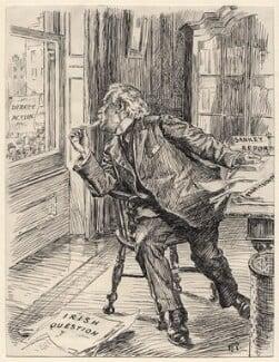 The Solution (David Lloyd George), by Bernard Partridge - NPG D9836