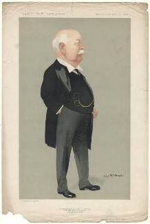 Sir Charles Wright Macara, 1st Bt, by Alexander ('Alick') Penrose Forbes Ritchie, published 13 March 1912 - NPG D9844 - © National Portrait Gallery, London