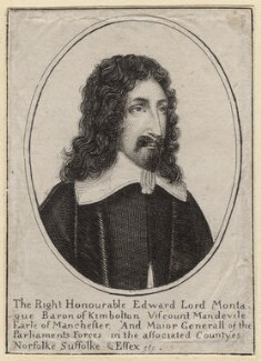 Edward Montagu, 2nd Earl of Manchester, after Wenceslaus Hollar - NPG D9849