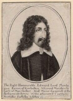 Edward Montagu, 2nd Earl of Manchester, after Wenceslaus Hollar, published 1800 - NPG D9849 - © National Portrait Gallery, London