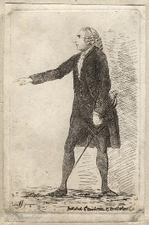 Henry Dundas, 1st Viscount Melville, by James Sayers, published by  Charles Bretherton - NPG D9858