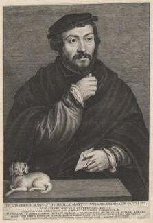 Unknown man called Sir Thomas More, by Lucas Vorsterman, after  (Claude) Corneille de Lyon, 1631 - NPG D9866 - © National Portrait Gallery, London