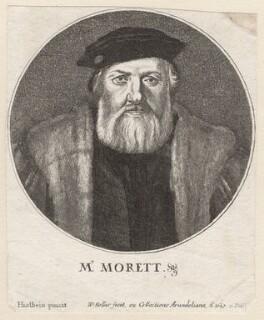 Charles de Solier, Sieur de Morette, by Wenceslaus Hollar, after  Hans Holbein the Younger - NPG D9867