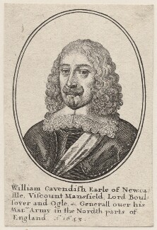 William Cavendish, 1st Duke of Newcastle-upon-Tyne, by Wenceslaus Hollar - NPG D9873
