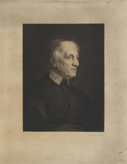John Newman, by Paul Adolphe Rajon, after  Walter William Ouless - NPG D9874