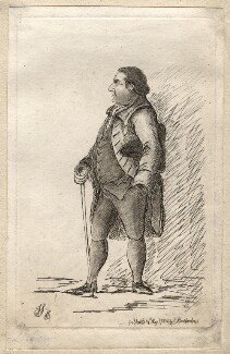 Charles Howard, 11th Duke of Norfolk, by James Sayers, published by  Charles Bretherton - NPG D9877