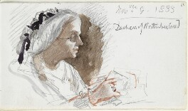 Louisa Percy (née Drummond), Duchess of Northumberland, by Louisa Anne Beresford - NPG D23146(63)