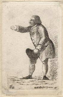 Robert Nugent, Earl Nugent, by James Sayers, published by  Charles Bretherton - NPG D9882