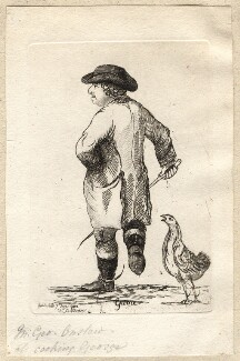 George Onslow ('Game'), by James Sayers, published by  Charles Bretherton - NPG D9884