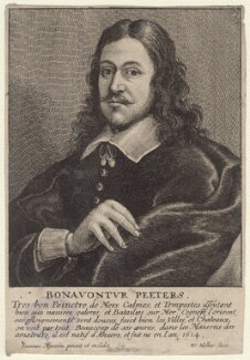 Bonaventura Peeters, by Wenceslaus Hollar - NPG D9894