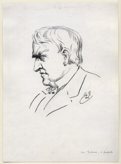 Thomas Alva Edison, by Harry Furniss - NPG D99